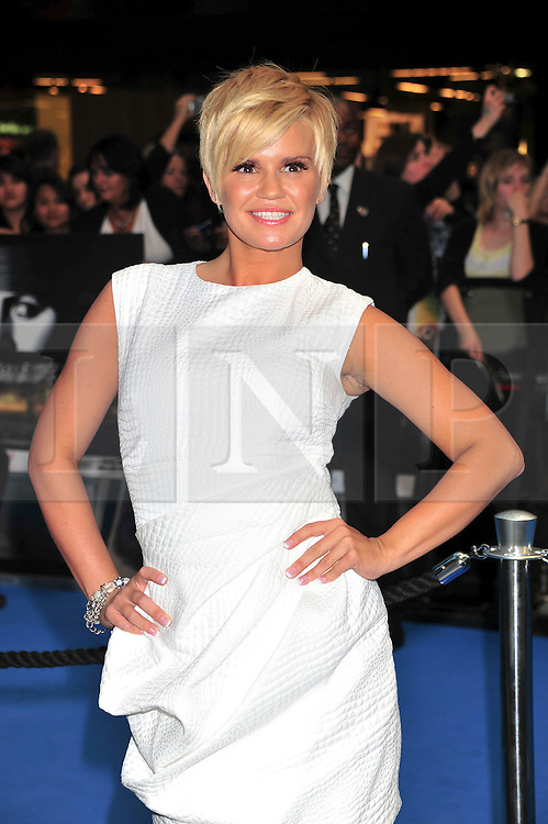 "© licensed to London News Pictures. London, UK  12/05/11 Kerry Katona attends the UK premiere of Pirates of the Carribean 4 ""on Stranger Tides"" at Londons Westfield . Please see special instructions for usage rates. Photo credit should read AlanRoxborough/LNP"