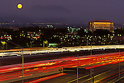 Busy 405 Freeway In Irvine California