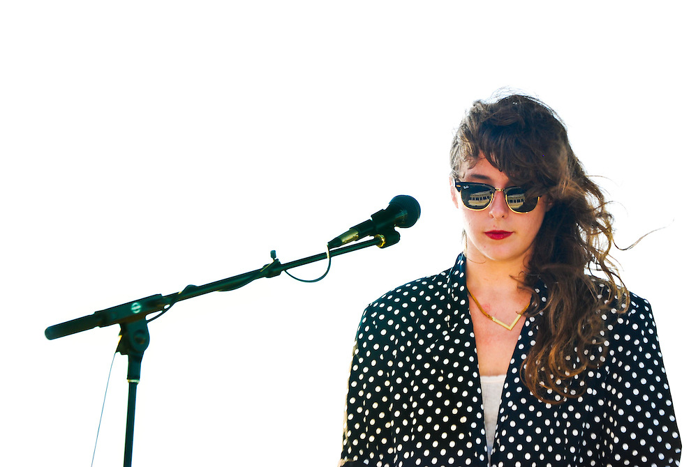 Beach House's Victoria Legrand at the JELLY Pool Party free concert series East River State Park, Williamsburg, Brooklyn, New York