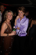 Dawn McGuire and Natasha Kaplinsky. Billy Elliot- The Musical opening night at the Victoria palace theatre and party afterwards at Pacha, London. 12 May 2005. ONE TIME USE ONLY - DO NOT ARCHIVE  © Copyright Photograph by Dafydd Jones 66 Stockwell Park Rd. London SW9 0DA Tel 020 7733 0108 www.dafjones.com