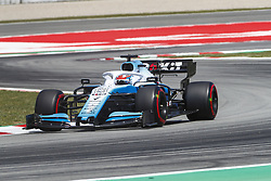 May 11, 2019 - Barcelona, Catalonia, Spain - Williams Mercedes driver George Russell (63) of Great Britain during F1 Grand Prix qualifying celebrated at Circuit of Barcelona 11th May 2019 in Barcelona, Spain. (Credit Image: © Mikel Trigueros/NurPhoto via ZUMA Press)