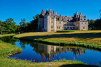 France, Cher (18), Berry, château de la Verrerie, route Jacques Coeur // France, Cher (18), Berry, the Jacques Coeur road, chateau de la Verrerie castle