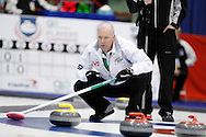 Glenn Howard, skip The 2011 GP Car and Home Players' Championship ran April 12-17 at the Crystal Centre, Grande Prairie, AB..11-04-13, Photo Randy Vanderveen, Grande Prairie, Alberta.