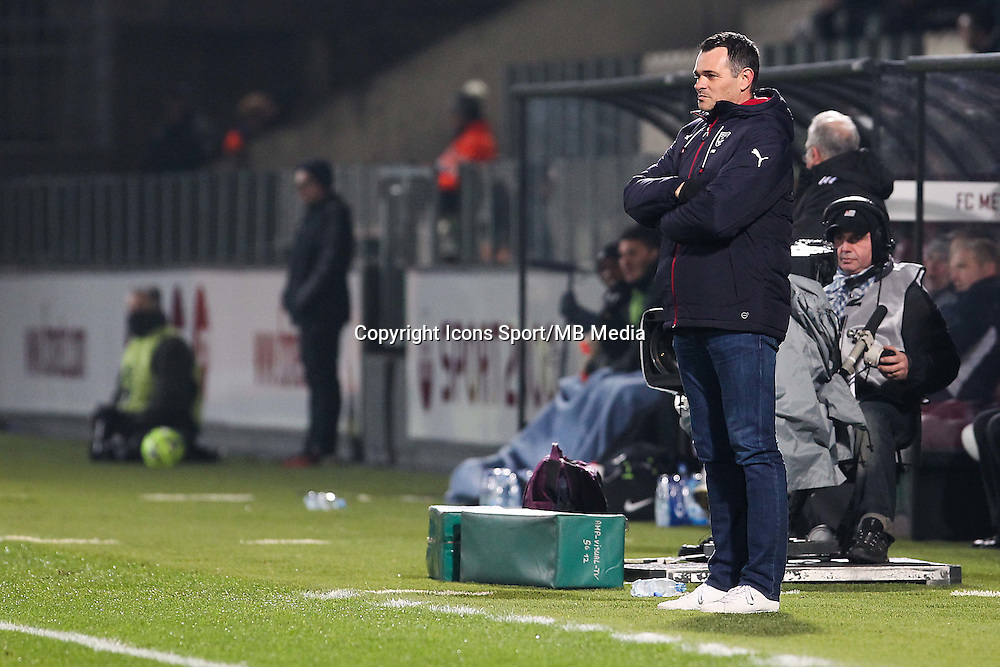 Willy SAGNOL - 03.12.2014 - Metz / Bordeaux - 16eme journee de Ligue 1 -<br />