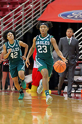 10 December 2017: Danielle Minott during an College Women's Basketball game between Illinois State University Redbirds and the Eagles of Eastern Michigan at Redbird Arena in Normal Illinois.