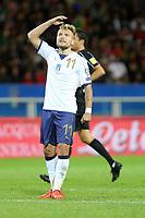 06.10.2017 - Torino -  - Qualificazioni Russia 2018   -  Italia-Macedonia  nella  foto: Ciro Immobile deluso