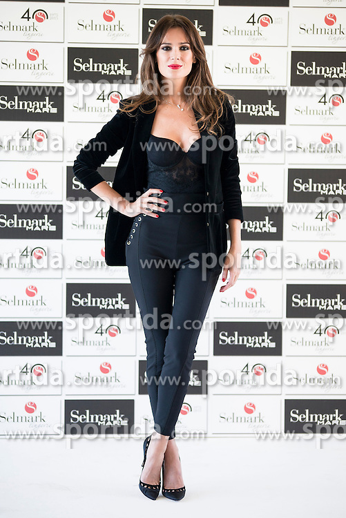 15.10.2015, Circulo de Bellas Artes, Madrid, ESP, Senmark Jubil&auml;ums Fashion Show, im Bild Mar Saura // during the Senmark 40th. Aniversary Fashion Show at the Circulo de Bellas Artes in Madrid, Spain on 2015/10/15. EXPA Pictures &copy; 2015, PhotoCredit: EXPA/ Alterphotos/ BorjaB.hojas<br /> <br /> *****ATTENTION - OUT of ESP, SUI*****