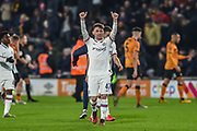 Billy Gilmour of Chelsea FC celebrates after the The FA Cup match between Hull City and Chelsea at the KCOM Stadium, Kingston upon Hull, England on 25 January 2020.