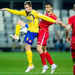 20120320: SLO, Football - PrvaLiga, NK Luka Koper vs NK Rudar