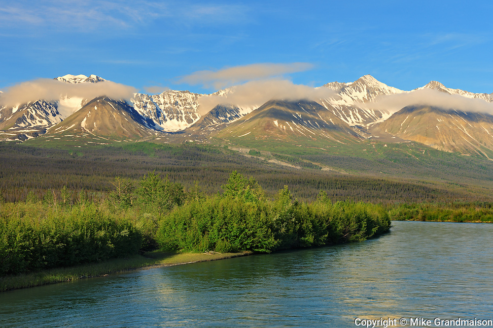 Deasadeash River<br /> near Haines Junction<br /> Yukon<br /> Canada