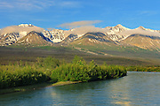 Deasadeash River<br /> near Haines Junction<br /> Yukon<br /> Canada