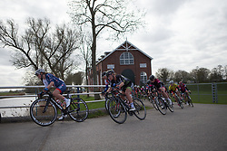Karlijn Swinkels (NED) of Parkhotel Valkenburg Cycling Team rides mid-pack during Stage 1b of the Healthy Ageing Tour - a 77.6 km road race, starting and finishing in Grijpskerk on April 5, 2017, in Groeningen, Netherlands.