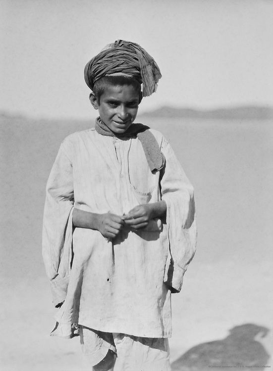 Child, Landi Kotal, Khyber Pass, India, 1929