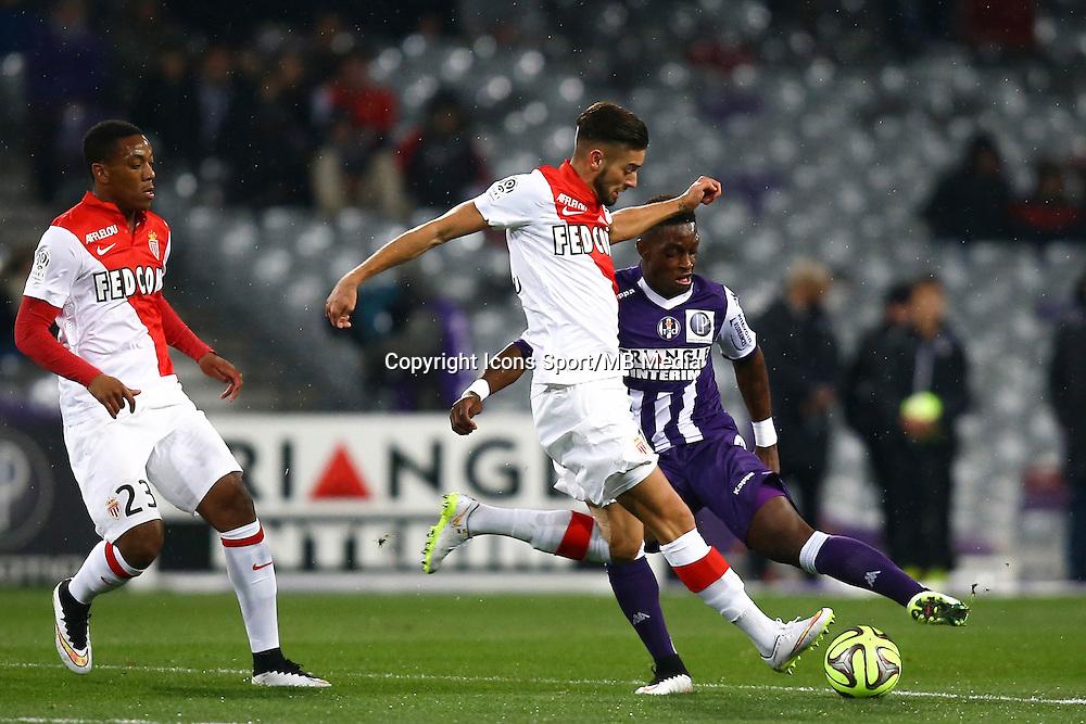 Yannick Ferreira Carrasco - 05.12.2014 - Toulouse / Monaco - 17eme journee de Ligue 1 -<br />Photo : Manuel Blondeau / Icon Sport