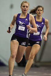 London, Ontario ---11-01-22---   Sarah Clancy of the Western Mustangs competes at the 2011 Don Wright meet at the University of Western Ontario, January 22, 2011..GEOFF ROBINS/Mundo Sport Images.
