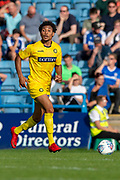 Wycombe Wanderers defender Darius Charles (21) during the EFL Sky Bet League 1 match between Gillingham and Wycombe Wanderers at the MEMS Priestfield Stadium, Gillingham, England on 14 September 2019.