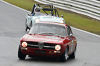 #100 Andrew Nicholson Alfa Romeo GT Junior 1962 during the CSCC Adams and Page Swinging Sixties at Oulton Park, Little Budworth, Cheshire, United Kingdom. October 15 2016. World Copyright Peter Taylor/PSP. <br /> Copy of publication required for printed pictures.  Every used picture is fee-liable. http://archive.petertaylor-photographic.co.uk