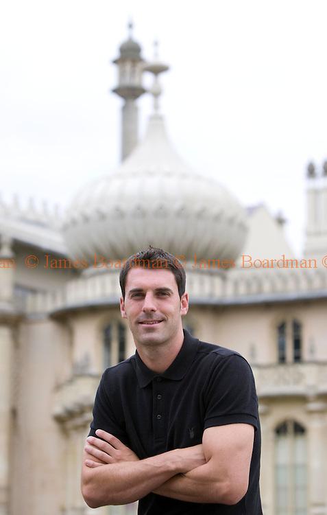 JAMES BOARDMAN / 07967642437.Brighton and Hove Albion's Matt Sparrow at the Royal Pavillion in Brighton July 13, 2010..