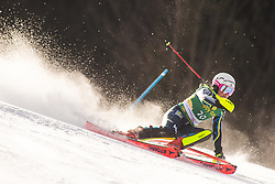 Magdalena Fjaellstroem (SWE) during the Ladies' Slalom at 56th Golden Fox event at Audi FIS Ski World Cup 2019/20, on February 16, 2020 in Podkoren, Kranjska Gora, Slovenia. Photo by Matic Ritonja / Sportida
