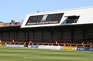 Picture by David Horn/Focus Images Ltd +44 7545 970036.20/04/2013.Underhill Stadium before Barnet FC's last game at the ground before the npower League 2 match at Underhill Stadium, London.