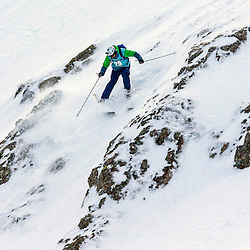 Nathan Hunter in action on the Flypaper at the Freeride World Tour Coe Cup in Glencoe (c) ROSS EAGLESHAM | Sportpix.co.uk