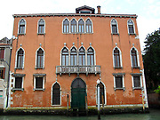 Along the Grand Canal various palces and homes were built from 16th to 19th Century.