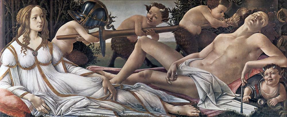 Sandro Botticelli, Venus and Mars 1483
