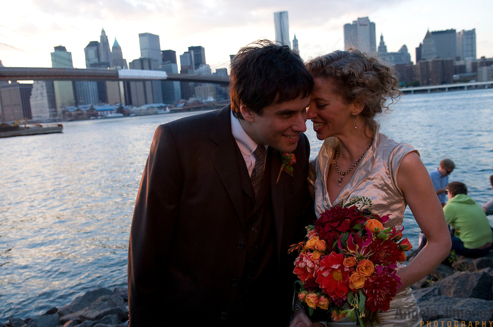 Cassie & Danny's wedding in Brooklyn, New York on October 17, 2010. ..Photo by Angela Jimenez .www.angelajimenezphotography.com