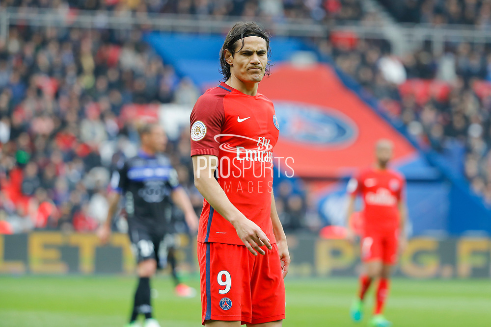 Edinson Roberto Paulo Cavani Gomez (psg) (El Matador) (El Botija) (Florestan) during the French championship Ligue 1 football match between Paris Saint-Germain (PSG) and Bastia on May 6, 2017 at Parc des Princes Stadium in Paris, France - Photo Stephane Allaman / ProSportsImages / DPPI