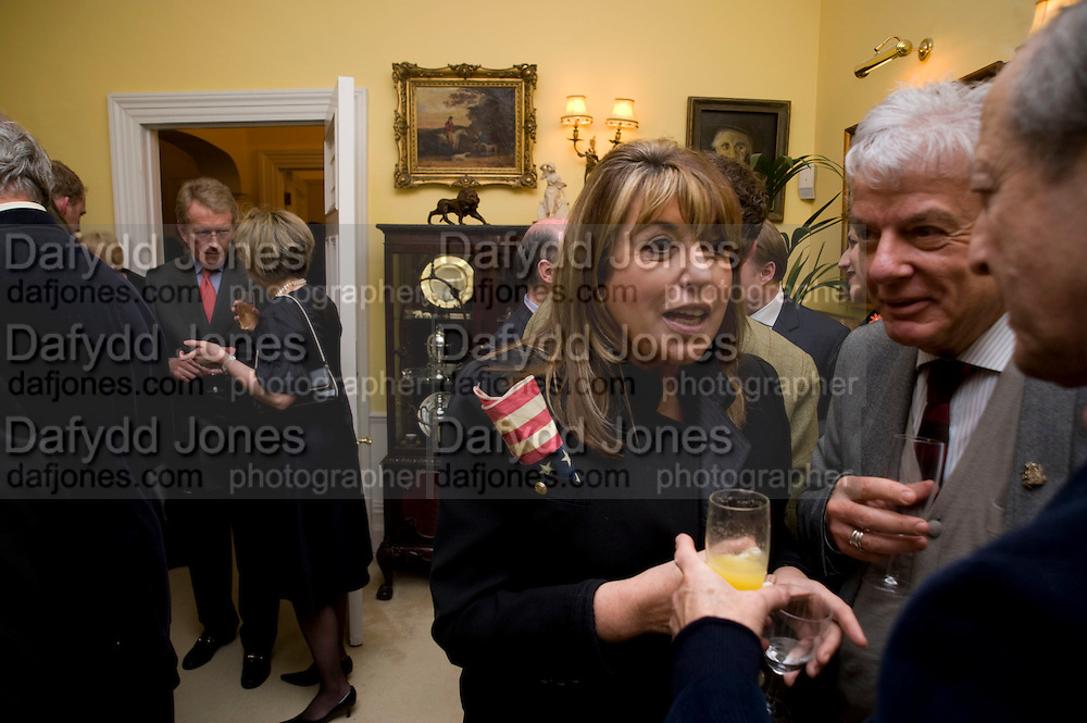 SIR CHRISTOPHER MEYER; EVE POLLARD; NICKY HASLAM. Mrs. Richard Briggs at home to celebrate Catherine Meyer's birthday. Sloane Gardens. London. 28 January 2009 *** Local Caption *** -DO NOT ARCHIVE-© Copyright Photograph by Dafydd Jones. 248 Clapham Rd. London SW9 0PZ. Tel 0207 820 0771. www.dafjones.com.<br /> SIR CHRISTOPHER MEYER; EVE POLLARD; NICKY HASLAM. Mrs. Richard Briggs at home to celebrate Catherine Meyer's birthday. Sloane Gardens. London. 28 January 2009