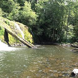 Beaver Falls, Olympic Peninsula, Washington, US