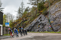 Peloton at La Roche-en-Ardennes during the 2019 Li&egrave;ge-Bastogne-Li&egrave;ge (1.UWT) with 256 km racing from Li&egrave;ge to Li&egrave;ge, Belgium. 28th April 2019. Picture: Pim Nijland | Peloton Photos<br /> <br /> All photos usage must carry mandatory copyright credit (Peloton Photos | Pim Nijland)