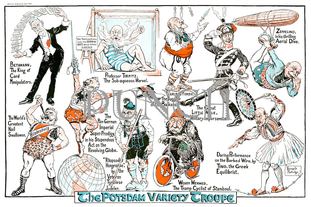The Potsdam Variety Troupe