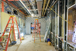 Major Renovation Litchfield Hall WCSU Danbury CT<br /> Connecticut State Project No: CF-RD-275<br /> Architect: OakPark Architects LLC  Contractor: Nosal Builders<br /> James R Anderson Photography New Haven CT photog.com<br /> Date of Photograph: 29 March 2017<br /> Camera View: 15 - First Floor, Laundry 129