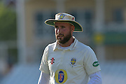 Chris Rushworth headshot during the Specsavers County Champ Div 1 match between Nottinghamshire County Cricket Club and Durham County Cricket Club at Trent Bridge, West Bridgford, United Kingdom on 28 May 2016. Photo by Simon Trafford.