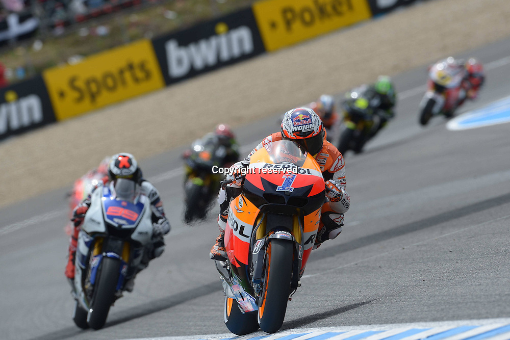 29.04.2012. Jerez, Spain. MotoGp of Spain at the Jerez de La Frontera circuit. Photo Casey Stoner