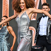 Heartbeat of Home performs at West End Live 2019 in Trafalgar Square, on 22 June 2019, London, UK.