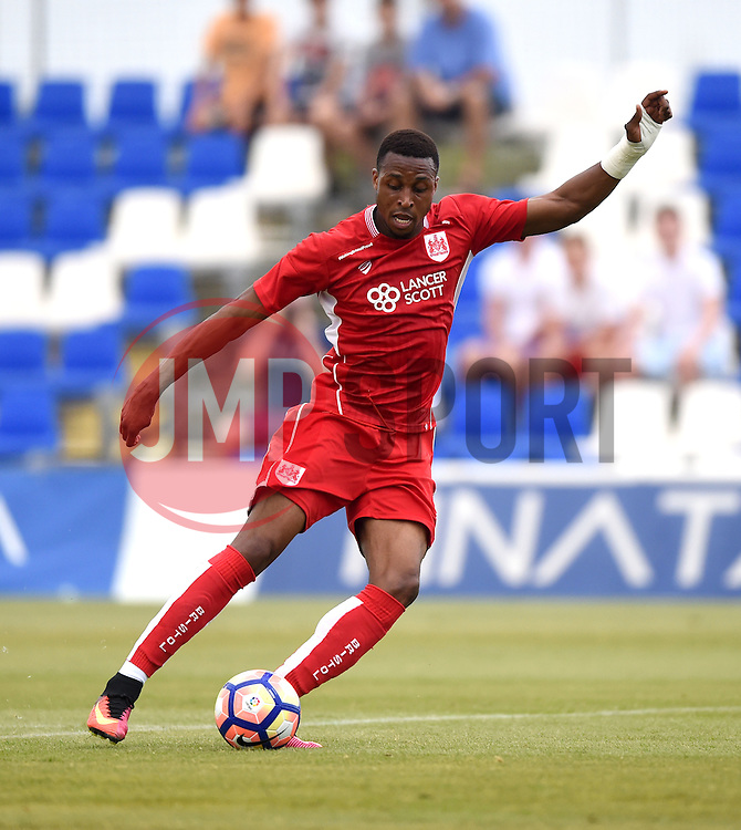 Jonathan Kodjia of Bristol City  - Mandatory by-line: Joe Meredith/JMP - 20/07/2016 - FOOTBALL - Pinatar Arena - San Pedro del Pinatar, Murcia - Granada v Bristol City - Pre-season friendly