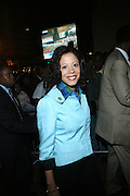 New York First Lady, Michelle Paige-Patterson at the Pre-Election party hosted by Congressman Charles Rangel held on the grounds of The Adam Clayton Powell State Office Building in Harlem on Election night, November 4, 2008..Democratic Presidential Candidate Barack Obama is declared victor and President-Elect as the 44th U.S. President making him the first African-American President in its 225 year history.