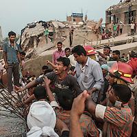 Rana Plaza 8 Storey Building collapsed in  around 8:45 morning on 24 April 2013 in Savar outskirt of Dhaka,Bangladesh.