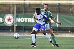 August 8, 2017 - St Ouen, France, France - MATTHIEU FONTAINE (Red Star) vs Pape SANE  (Credit Image: © Panoramic via ZUMA Press)