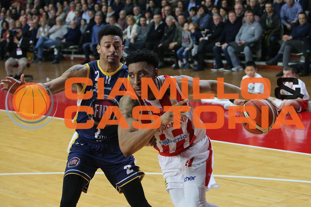 Okoye Stanley<br /> Openjobmetis Varese - Fiat Torino<br /> Lega Basket Serie A 2017/2018<br /> Varese, 14/01/2018<br /> Foto Ciamillo - Castoria