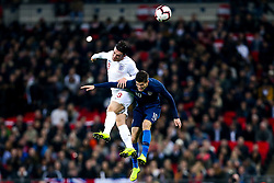 Ben Chilwell of England challenges Christian Pulisic of USA - Mandatory by-line: Robbie Stephenson/JMP - 15/11/2018 - FOOTBALL - Wembley Stadium - London, England - England v United States of America - International Friendly