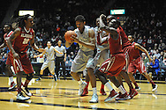 "Mississippi's Sebastian Saiz (11) vs. Alabama at the C.M. ""Tad"" Smith Coliseum in Oxford, Miss. on Wednesday, February 26, 2014. (AP Photo/Oxford Eagle, Bruce Newman)"
