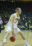 December 17, 2011: Iowa Hawkeyes guard Josh Oglesby (2) with the ball during the the NCAA basketball game between the Drake Bulldogs and the Iowa Hawkeyes at Carver-Hawkeye Arena in Iowa City, Iowa on Saturday, December 17, 2011. Iowa defeated Drake 82-68.