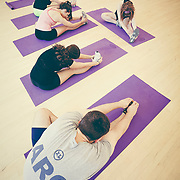 Students work-out in the ARC.