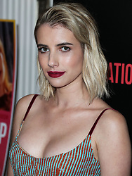 WEST HOLLYWOOD, LOS ANGELES, CA, USA - OCTOBER 30: Actress Emma Roberts arrives at the Los Angeles Premiere Of Vertical Entertainment's 'In A Relationship' held at The London West Hollywood Screening Room on October 30, 2018 in West Hollywood, Los Angeles, California, United States. 30 Oct 2018 Pictured: Emma Roberts. Photo credit: Xavier Collin/Image Press Agency/MEGA TheMegaAgency.com +1 888 505 6342