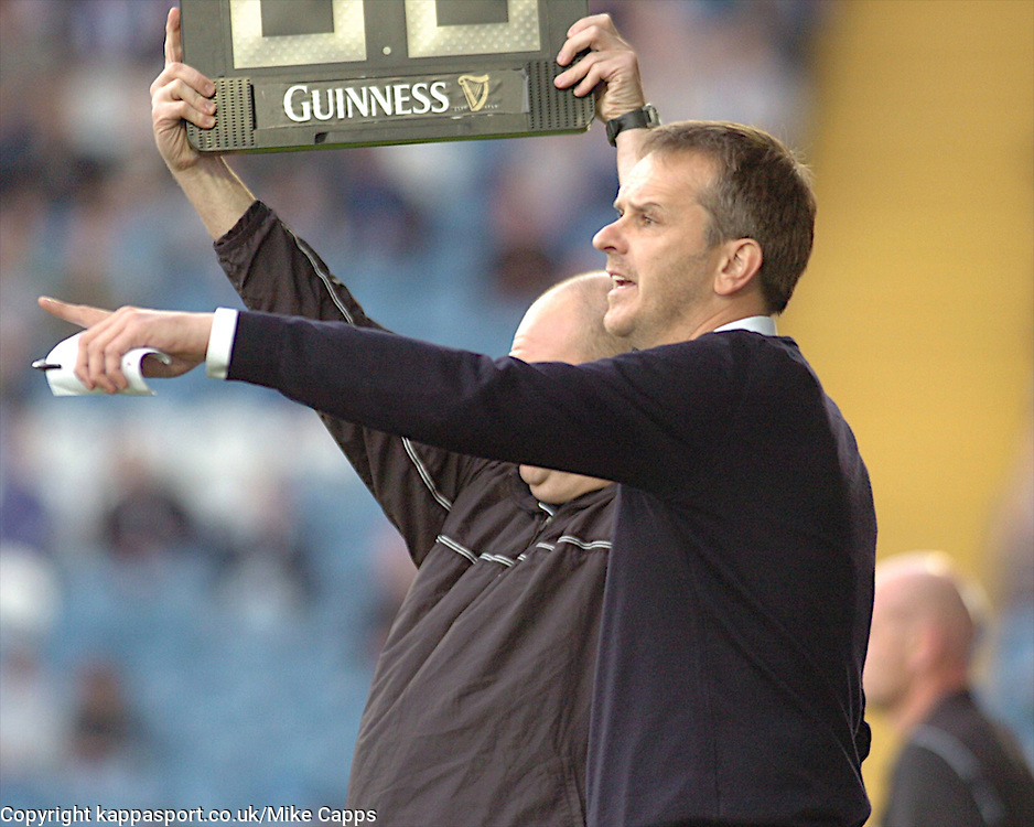 DIETMAR HAMANN MANAGER STOCKPORT COUNTY, Stockport County v Kettering Town, Blue Square Premier, Edgeley Park Stockport,<br /> Tuesday 16th August 2011
