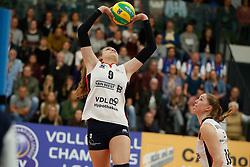 20181024 NED: CL, Sliedrecht Sport - Allianz MTV Stuttgart, Sliedrecht<br />Sarah van Aalen (9) of Sliedrecht Sport <br />©2018-FotoHoogendoorn.nl / Pim Waslander