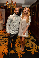 "JB GILL and STACEY SOLOMAN at a party to celebrate the publication of ""Lady In Waiting: The Wristband Diaries"" By Lady Victoria Hervey held at The Goring Hotel, Beeston Place, London on 9th May 2016."